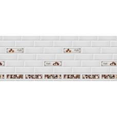 Кухонный фартук АБС Керамика Choko (600*3000*1.5мм)