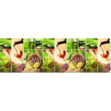 Кухонный фартук АБС Масандра (600*3000*1,5мм) Европа NEW!