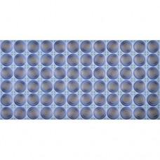 Панель ПВХ 0,3 Узор синий