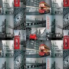 1572-1 Штора 180*180 см полиэстр Лондон