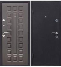 """дверь железная """"Йошкар"""" медь/венге 860 правая"""