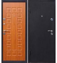 """дверь железная """"Йошкар"""" медь/золот.дуб 860 правая"""