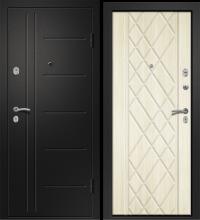 Дверь МЕДЕЯ-311 (Бодега рубин 161 прав Сатин черный 880*2050 R)