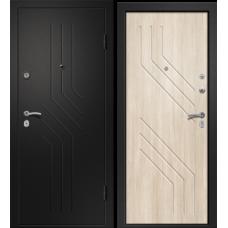 Дверь АРИЗОНА-215 (Лиственница светлая 56 Сатин черный 880*2050 L)